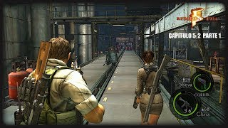 Resident Evil 5: Capitulo 5-2 Parte 1