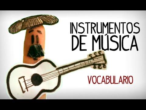 Les instruments de musique en espagnol. Video Vocabulaire espagnol