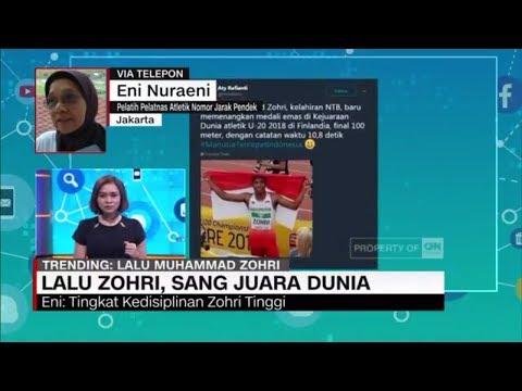 Cover Lagu Lalu Zohri, Sang Juara Dunia - Eni Nuraini, Pelatih Pelatnas Atletik HITSLAGU