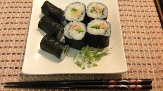 "How to make ""Tuna Mayoonaise & Cucumber Maki Sushi"" - simple & delicious"