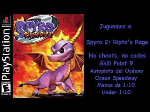 Spyro 2: Ripto's Rage! P.H. Aut. Océano. Menos de 1:10 (Ocean Sp. Under 1:10)