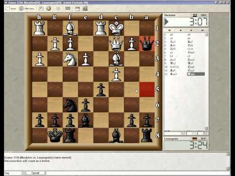 ICC 5min Blitz Schach mit LIvekommentar #1