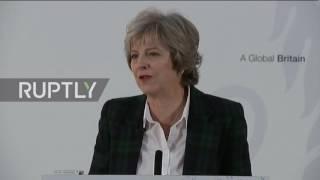 UK: No 'partial' or 'associate' membership, UK is leaving the EU - Theresa May
