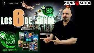 Xbox Game Pass Los 6 titulos de Junio, June´s 6 Game Pass titles |MondoXbox