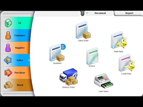 Bryan Cheong SQL Accounting System V757 GST6 To GST 0 English Tutorial Video
