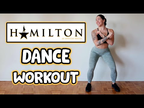 HAMILTON DANCE WORKOUT (BROADWAY MUSICAL)   Cardio To Songs From The Hamilton Soundtrack