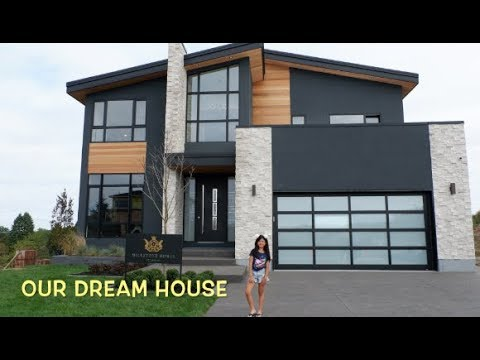 Dream house modern contemporary houses tour youtube for Modern home plans with photos