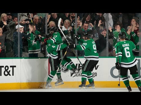 Miro Heiskanen taps home Spezza's saucer feed to collect first NHL goal