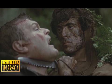 Rambo First Blood (1982) - Forest Hunt Scene (1080p) FULL HD thumbnail