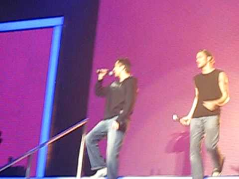 X Factor - Worst Auditionees Ant & Seb - Mysterious Girl (Tour 2009, Nottingham)