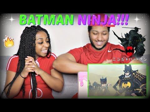 """Batman Ninja"" Trailer (English Version) REACTION!!!"