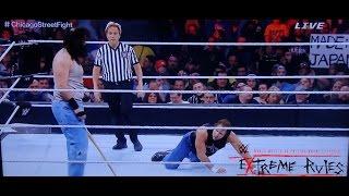WWE Extreme Rules 2015  Chicago Street Fight Dean Ambrose vs. Luke Harper FULL MATCH REVIEW