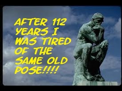 the mandela effect rodin s the thinker is totally different in