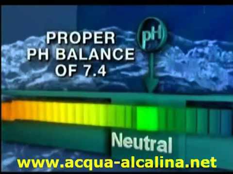 acqua alcalina ionizzata benefici storia - YouTube