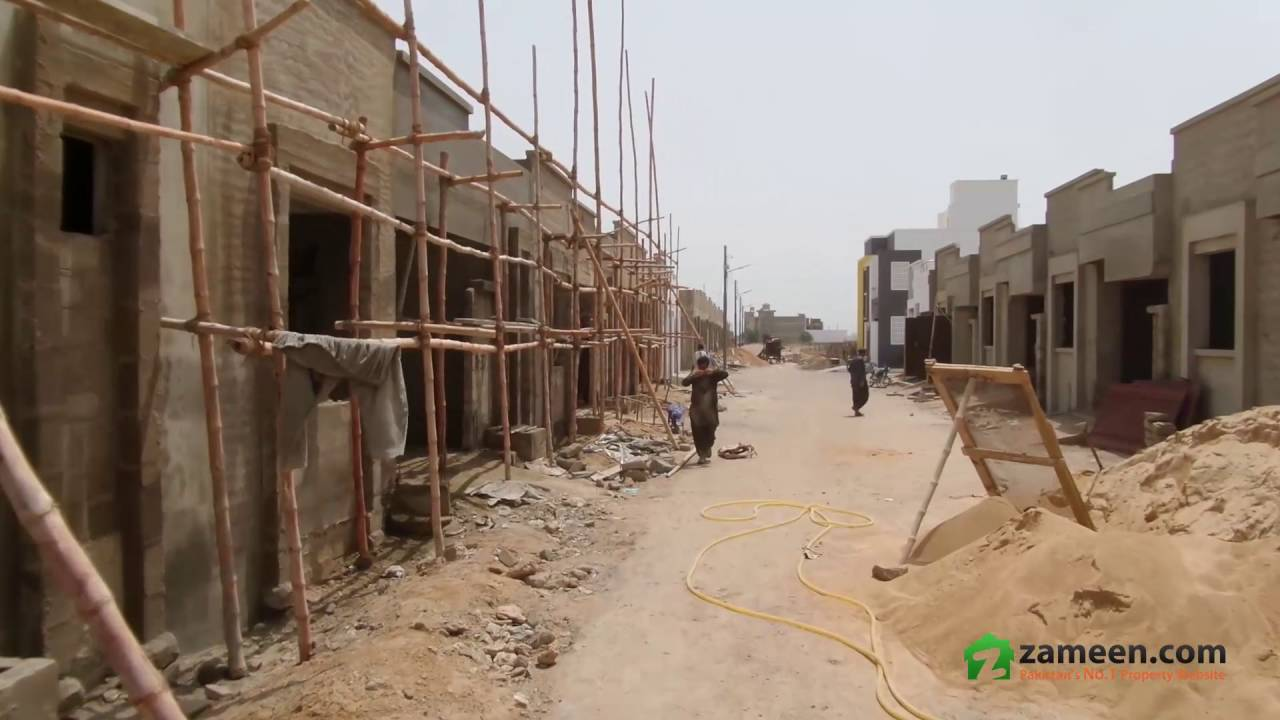 BRAND NEW BUNGALOW FOR SALE IN RIMJHIM VILLAS - GULSHAN-E-USMAN HOUSING  SOCIETY KARACHI