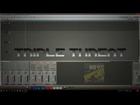Triple threat (instrumental) - DJ U.N.C.L.E.