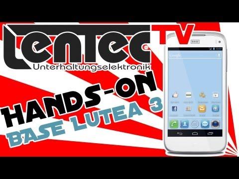 LENTEC Hands-On - BASE Lutea 3 (Alcatel one touch 998)