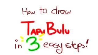 How to draw Tapu Bulu