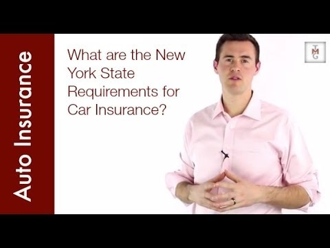 What are the New York State Requirements for Car Insurance?