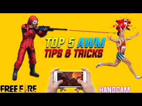 New AWM Tips \u0026 Tricks With Handcam
