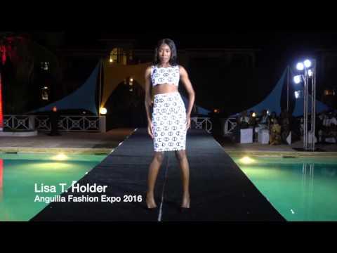 Lisa T  Holder Anguilla Fashion Expo 2016