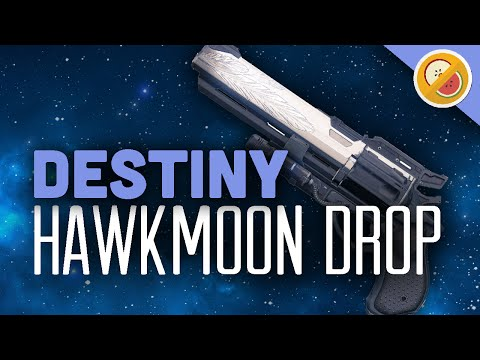 Destiny hawkmoon drop reaction exotic hand cannon op ps4 gameplay