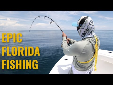 Kingfish Sailfish & Goliath FISHING!  | Cape Canaveral