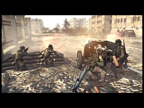 Intense WW2 Street Combat - Battle of Berlin | Men of War Assault Squad 2 Mod Gameplay
