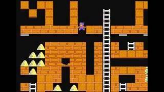 NES Championship Lode Runner Stage41-50 (walkthrough)