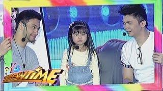 Xia, Billy and Vhong do the face dance