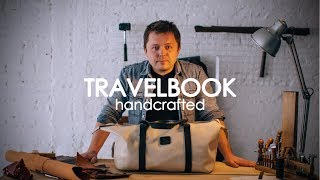 Travelbook Leather, handcrafted