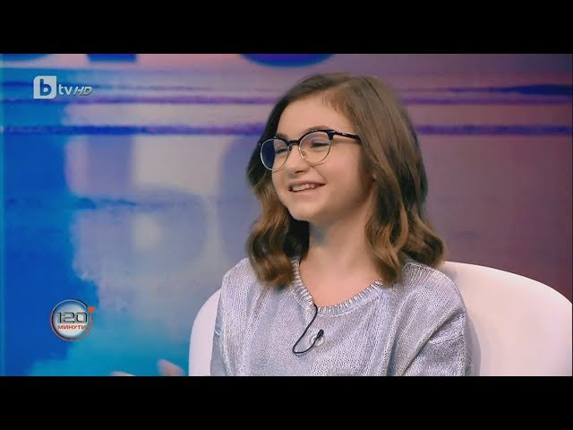 """Krisia Todorova: Krisia's interview on """"120 Minutes"""""""