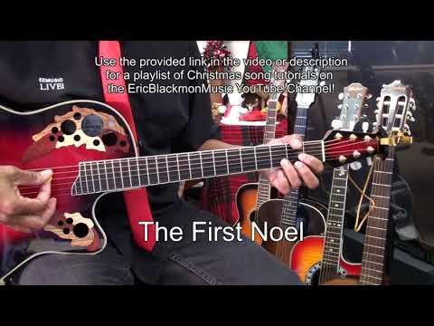 🎄 Christmas & Holiday Song Tutorial YouTube PLAYLIST LINKS Guitar Piano Ukulele EricBlackmonGuitar