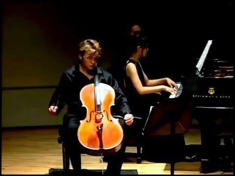 Joseph Kuipers | Felix Mendelssohn Cello Sonata No. 2, Op.58 | Marinus Ensemble