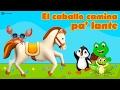 El Caballo Camina Palante, canciones infantiles para fiestas/ el baile del caballo/el bailecito 2017
