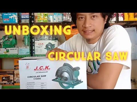 J.C. Kawasaki Circular Saw 1185G (UNBOXING)