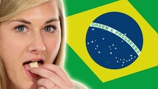 Americans Try Brazilian Snacks For The First Time