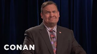 Andy Pretends To Care About #OldHeadshotDay  - CONAN on TBS