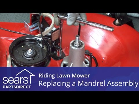 Replacing a Mandrel Assembly on a Riding Lawn Mower
