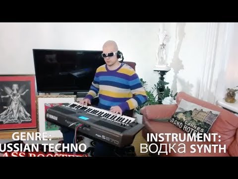 when you try all the sounds and beats on your synth while only playing oasis - wonderwall