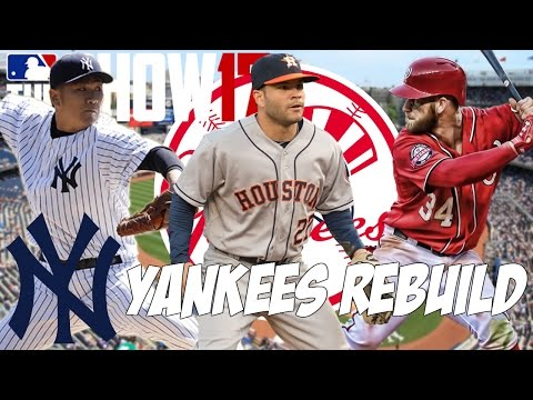 REBUILDING THE NEW YORK YANKEES! | MLB THE SHOW 17 FRANCHISE