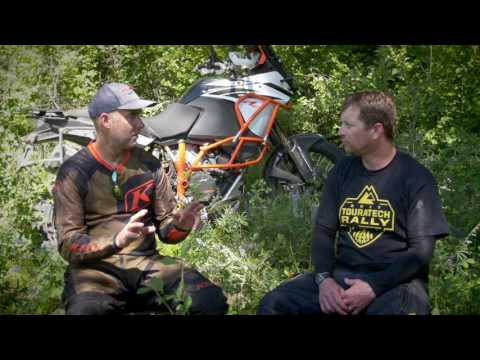 Touratech & Jimmy Lewis Review KTM 1090 Adventure R | Video Test