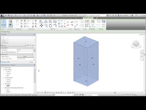 Autodesk Conceptual Energy Analysis in Revit