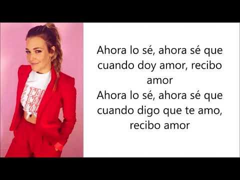 Rachel Platten - Loveback (Letra en español)