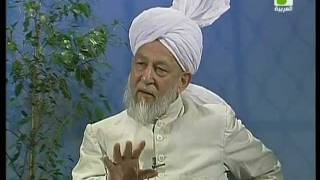 Liqa Ma'al Arab 23 April 1998 Question/Answer English/Arabic Islam Ahmadiyya