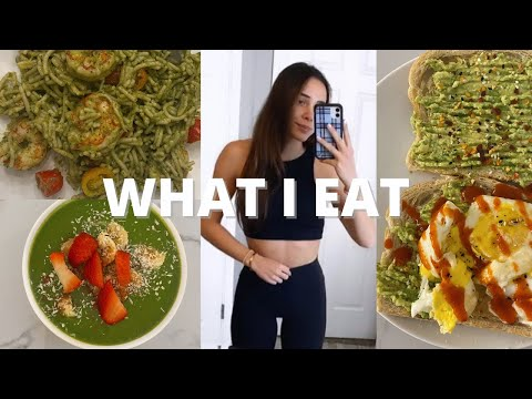 WHAT I EAT IN A DAY: to reach my fitness goals