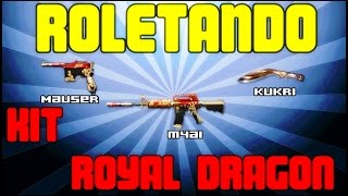[CF/AL] #86 - Kit Royal Dragon - Roletando & Infartando