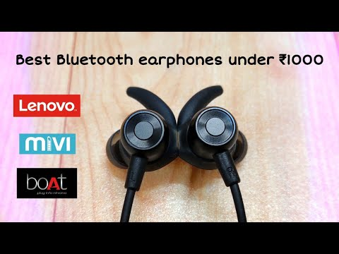 Top 5 BEST Wireless Earphones Under Rs 1000 In India | Hindi | *must Watch*