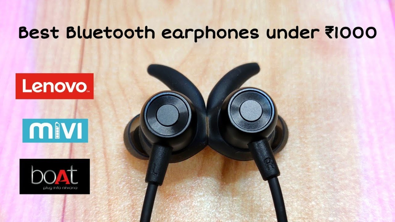 Top 5 Best Wireless Earphones Under Rs 1000 In India Hindi Must Watch Youtube