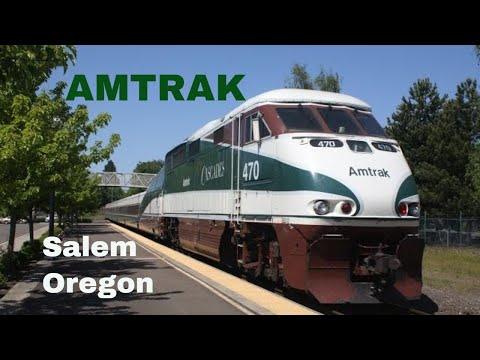 Amtrak around Salem Oregon 1999's-2000's